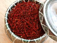 4*1 Grams Pure Genuine Saffron Spice, Grade I (All Red) Include Free UK Delivery