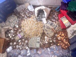 OLD SILVER U.S. MONEY BULLION COIN COLLECTION LIQUIDATION DEALER SET ESTATE SALE
