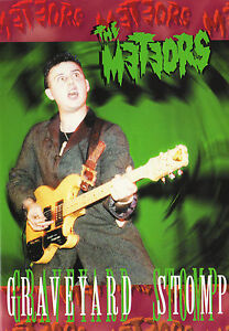METEORS-Graveyard-Stomp-DVD-psychobilly-live-rare-early-1980s-P-Paul-Fenech-NEW