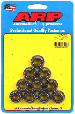 ARP M12 X 1.25 12pt nut kit 301-8358 Part No