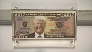 President-Donald-Trump-2017-Federal-Inaugural-Note-in-a-Magnetic-Photo-Frame