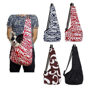 Pet-Dog-Cat-Puppy-Strap-Sling-Tote-Single-Shoulder-Carrier-Cloth-Bag-Carry-Pouch