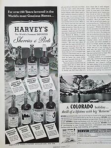 1952-Harveys-Imported-Ruby-Port-Wine-Bristol-Cream-Milk-Dry-Sherry-Vintage-Ad