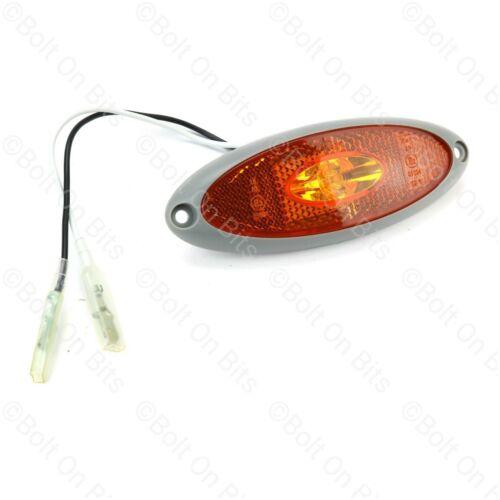 Elnagh New Life Sharky Motorhome LED Amber//Orange Side Marker Light//lamp
