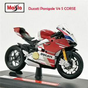 Maisto-1-18-Ducati-Panigale-V4-S-CORSE-MOTORCYCLE-BIKE-DIECAST-MODEL-NEW-IN-BOX