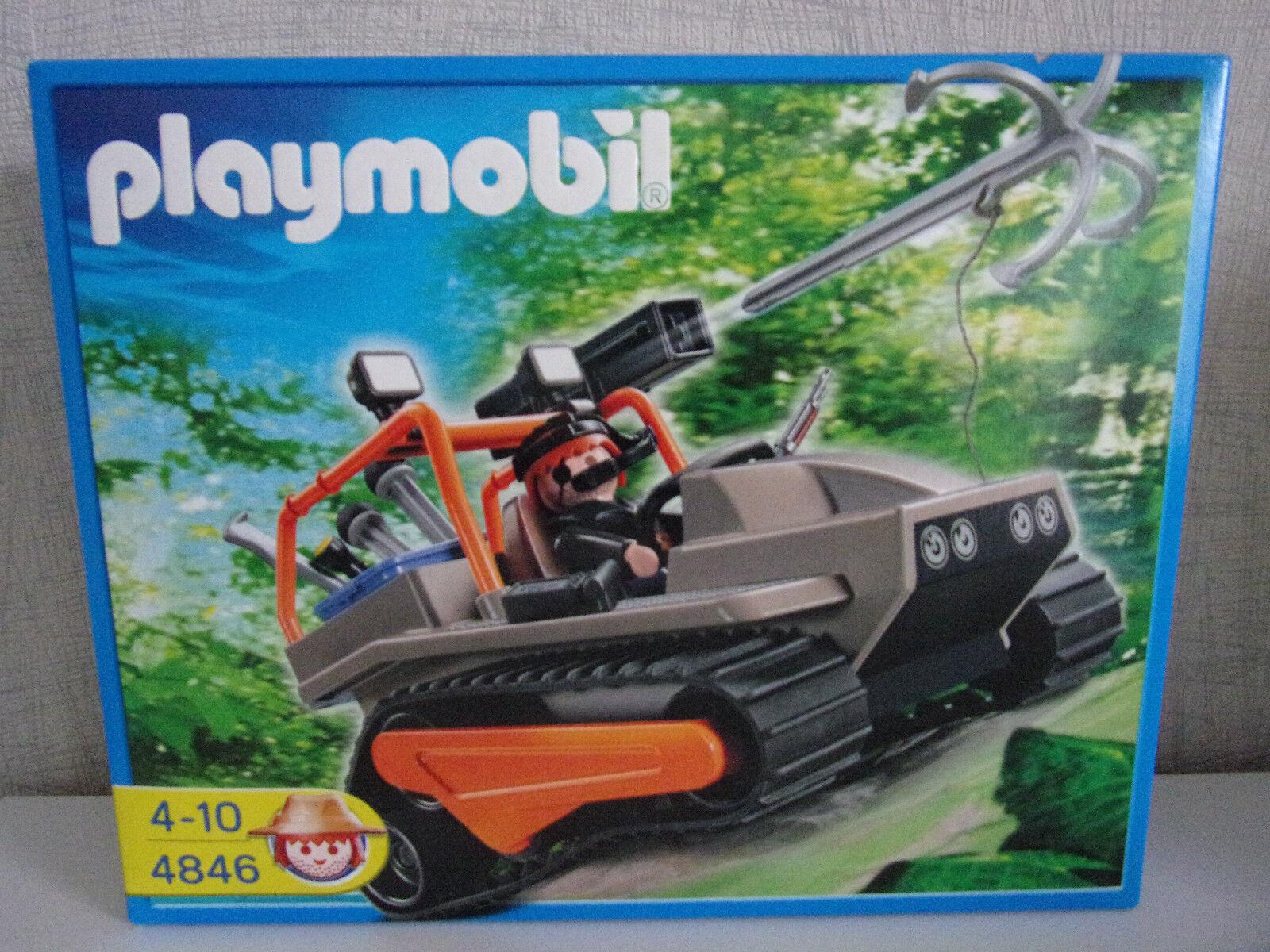Playmobil 4846 schatzräuber-kettenraupe - Neuf et emballage d'origine