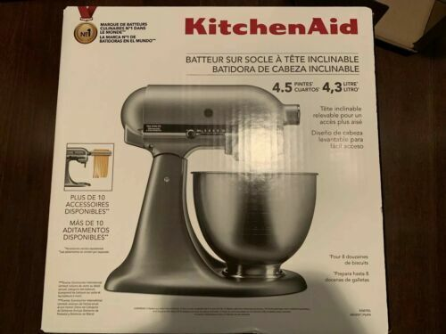 KitchenAid Classic Plus KSM75WH 4.5qt Tilt-Head Stand Mixer - White