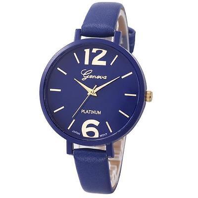 New Fashion Watch Geneva Analogue Quartz Women Ladies Wrist Watch Free Shipping