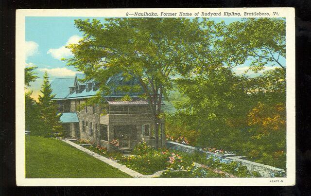 Naulakha, Rudyard Kipling house, Brattleboro Vermont. www