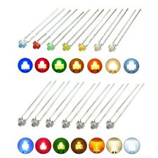 Led 0 116in Diffuse And Clear Mini Miniature Leds 7 Colours Amount Set Choose