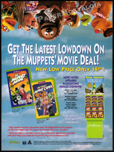 THE MUPPETS' MOVIE DEAL__Original 1995 Trade AD / ADVERT__Jim Henson_Great Caper