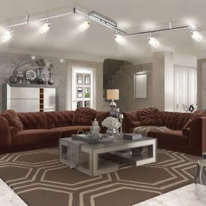 DESIGN-LED-PLAFOND-SPOT-LAMPE-LUMIERE-mobile-spot-eclairage-bureau-couloir