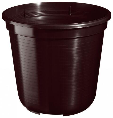 5er Set Pflanzkübel Blumentopf Standard 45 cm rund aus Kunststoff Sparpaket