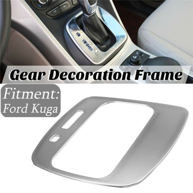 For Ford Escape Kuga 2013-2016 Chrome Gear Shift Panel Trim Frame Cover