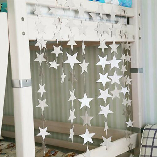 2M Hanging Star Decorations Birthday Wedding Baby Shower Party Ornament WE