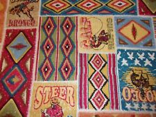 Southwest Arizona Indian Pottery Quilt Fabric 1 Yard