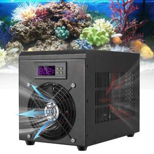 180W Aquarium Water Chiller Fish Tank Chiller Cooling Machine 60L +LCD Display
