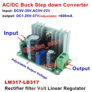 AC-DC-Buck-Step-Down-Converter-Voltage-Linear-Rectifier-Mini-Module-3V-5V-9V-12V