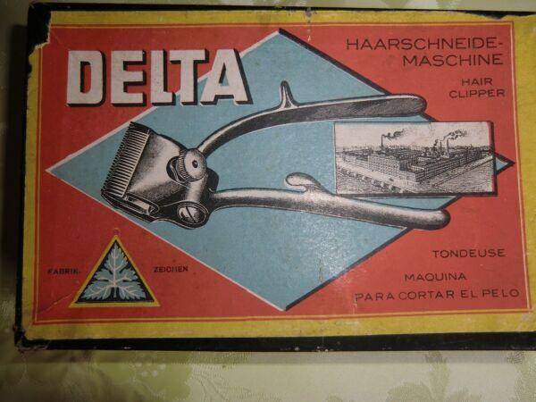 """Delta Haarschneidemaschine """" Antik """""""