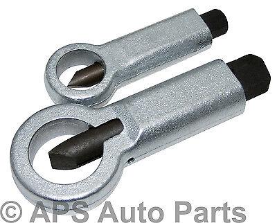 2pc Nut Bolt Splitter Rusted Broken Nut Breaker Remover Removal Tool 12-22mm