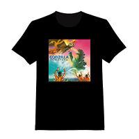 Godzilla Vs Mothra 3 - Custom Adult T-shirt (159)