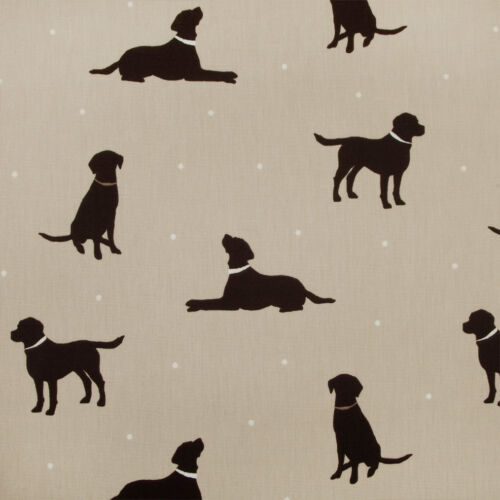 Labrador Scotties PVC Oilcloth Wipeclean Tablecloth All Sizes Colours /& Designs
