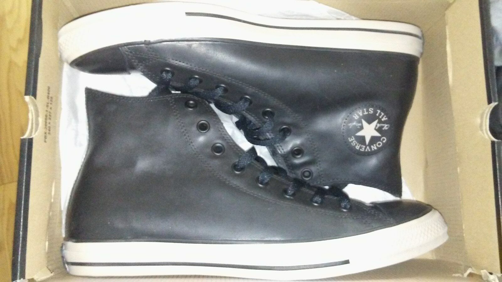 Converse Chuck Taylor CT All Star BLACK RUBBER Herren hi top OX  Herren RUBBER SHOE SIZE 8 8f20be