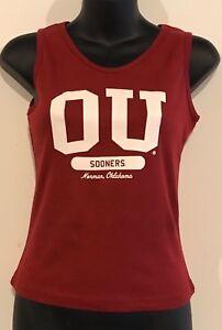 Oklahoma Sooners OU Tank Top Juniors Creative Apparel | eBay