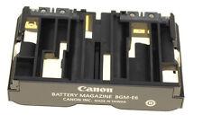 Empuñadura con batería Canon BG-E7 batería caso 4 Lp E6 Nueva Unidad