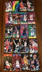NBA-Jam-Session-Basketball-Cards-Shaq-Reggie-Miller-amp-More-Lot-of-20