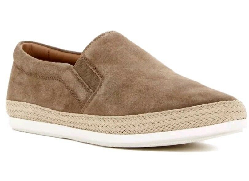 NEW  275 Vince Chance Slip-On Sneaker Espadrille Flint (Beige) SZ 11.5 Mens  275