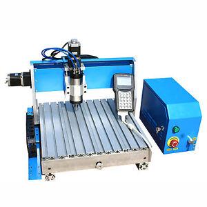 800w Desktop Wood Engraving Machine Cnc Router 3040 Pcb