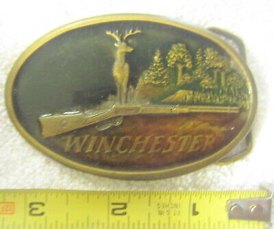 Cowboy Up Belt Buckle Antique silver color Deer Rifle Country hunting fishing US