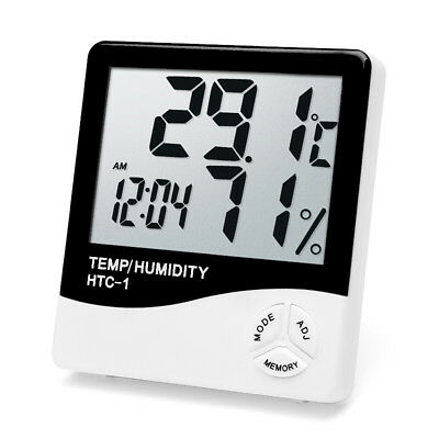 Inside And Outside The Home Electronic Hygrometer Thermometer Precision HTC-1 UK