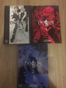Dogs-0-2-Manga-Books-Shirow-Miwa-Viz-Media-3-Books