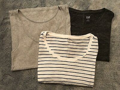 Mixed Items & Lots Cheap Price Gap Size Xs Women's Short Sleeve Clothing, Shoes & Accessories Long Sleeve T-shirts & Tank Top Bundle