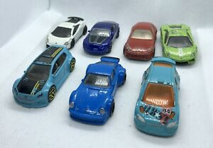 Hot-Wheels-Paquete-de-coche-deportivo-europeo-JOBLOT-Die-Cast-Bentley-Porsche-Ferrari