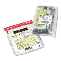 Mmf Industries Tamper-evident Deposit/cash Bags Plastic 9 X 12 Clear 100 Bags on sale