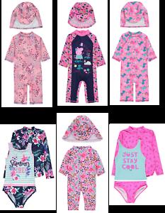 c3ede5487c3 Image is loading Girls-Sun-Protection-Swimwear-Sets-UV-Sunsafe-Surfsuits-