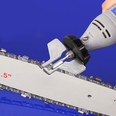 4PCS//Kit Diamond Chainsaw Grinding Head Polishing Sharpener Burr File Chain Saw