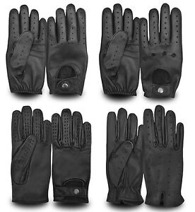 MEN-S-LEATHER-FULL-FINGER-DRIVING-GLOVES-CHAUFFEUR-STYLE-RETRO-CLASSIC-VINTAGE