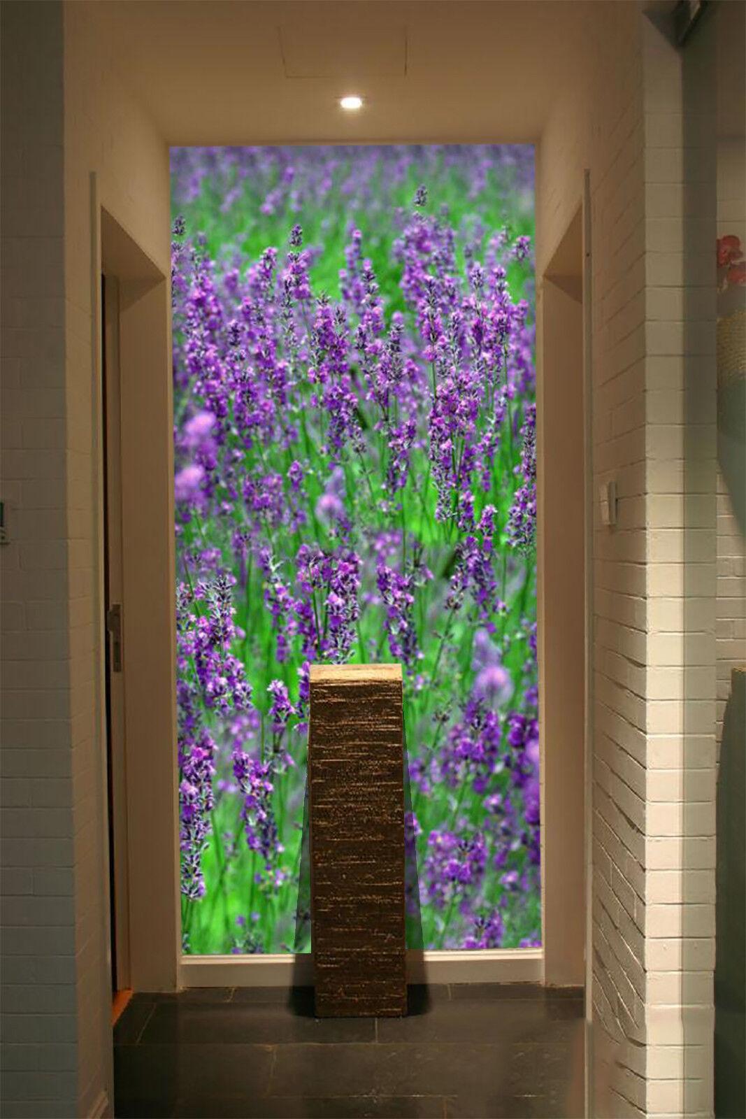 3D lila Lavender 8 Wall Paper Murals Wall Print Wall Wallpaper Mural AU Summer