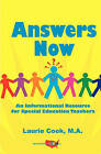 Answers Now: An Informational Resource for Special Education Teachers by Laurie Cook Ma (Paperback / softback, 2010)