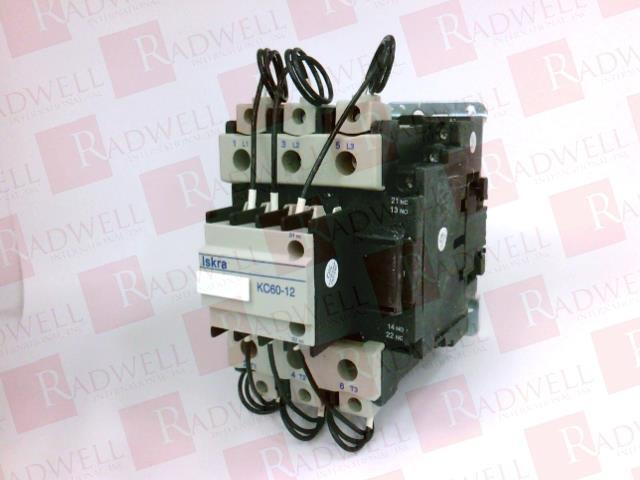 ISKRA KC60-12-220-50 60   KC60122205060 (NEW IN BOX)