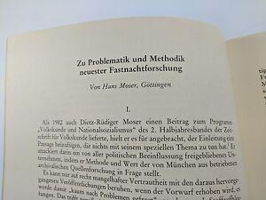 Fasnet-Hans-Moser-Problematik-neuester-Fastnachtsforschung-1984-Fastnacht