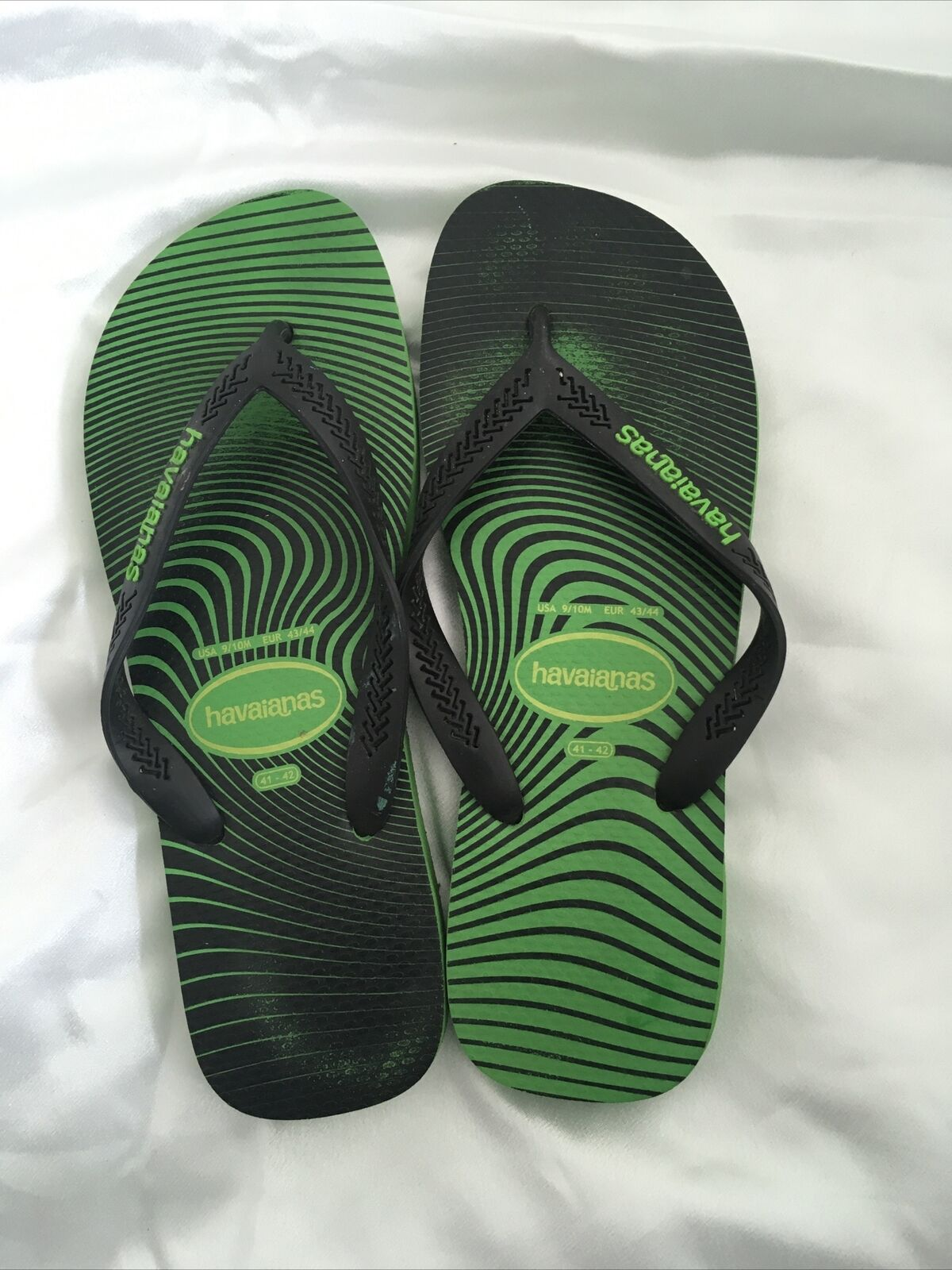 Havaianas Green Flip Flops Size 41