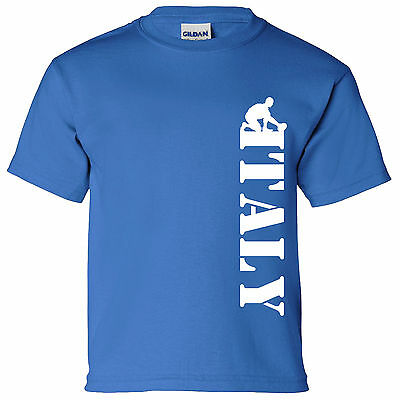 Australia Vertical Kids Rugby T Shirt 6 Nations World Cup England Wales Ireland