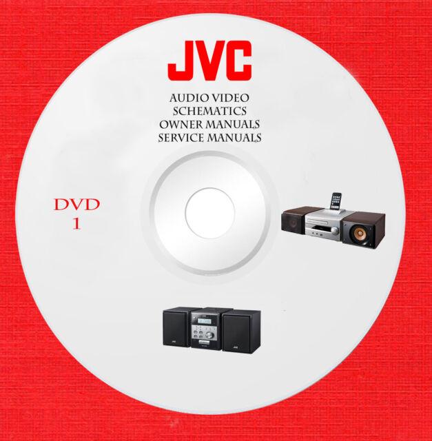 Jvc Audio Video Repair Service Owner Manuals Dvd 1 Of 6 In Pdf Format