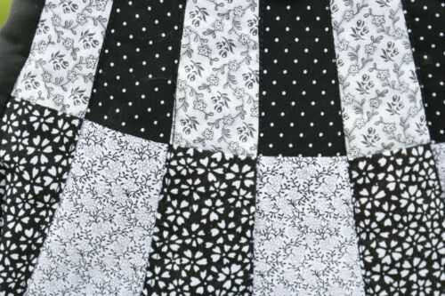Handbag And Handmade White Black White And Black Handmade Handbag White And Black mn08vNw