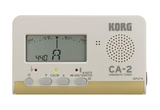 KORG CA-2 - Accordatore Chitarra Cromatico Strumenti a corda